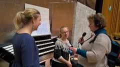 Intervju med P4 norrbotten inför uruppförande av Goldberg 1.5Pro