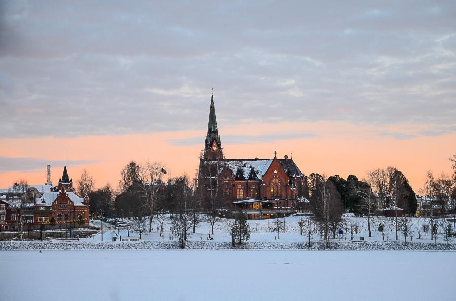 Umeå stads kyrka 5januari